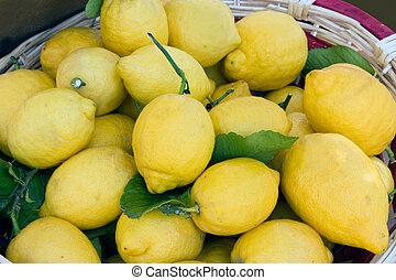 lemons from sicily?