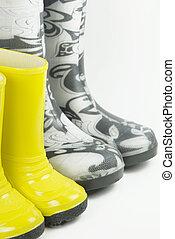 Little boots, big boots