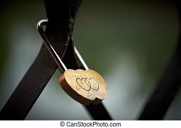 Lock of love.