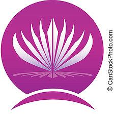 Lotus leafs frame company logo