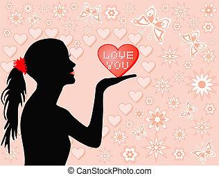 Love you, illustration