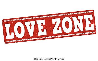 Love zone stamp