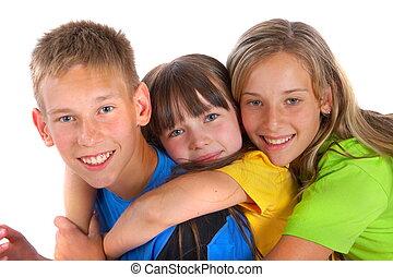Loving siblings