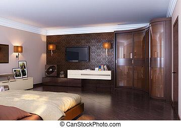 Luxury Classic Bedroom Interior