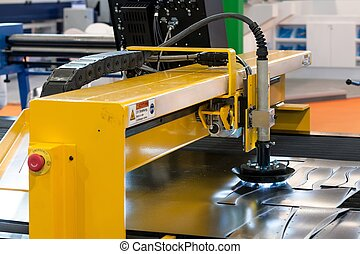 Machine cutting steel