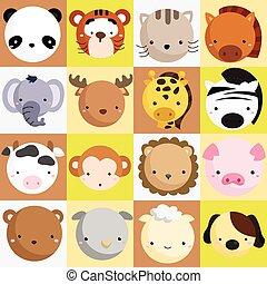 Mammal Icon Vector Set