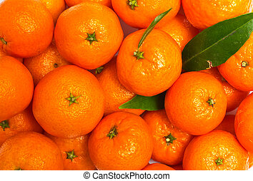 Background of mandarin
