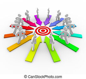 Many Competing for Same Goal - Target