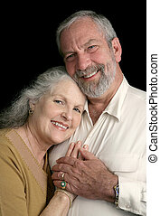Mature Couple Happy Together
