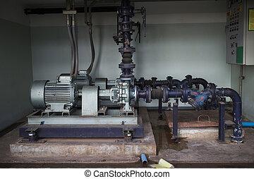 Mechanical water pump