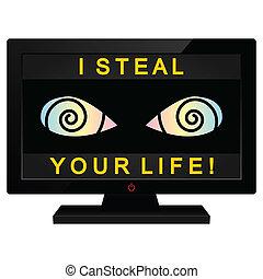 Media as a thief