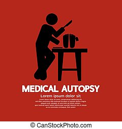 Medical Autopsy Graphic.