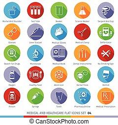 Medical Icons Set 04F