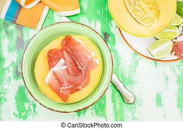Melon with Prosciutto