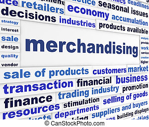 Merchandising business message