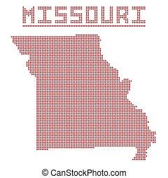 Missouri Dot Map