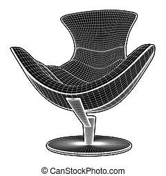 Modern Armchair Vector 26
