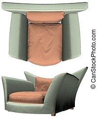 Modern Armchair Vector 33