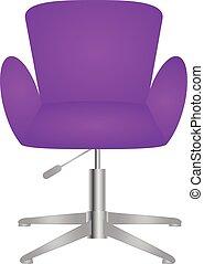 Modern comfortable elegant and stylish chair vector eps 10