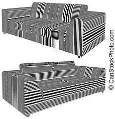 Modern Sofa Vector 25