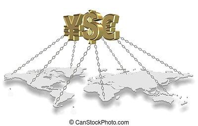 Money holding world
