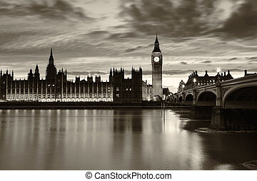 Monochrome Big Ben London