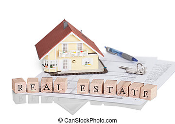 Mortgage concept with alphabet