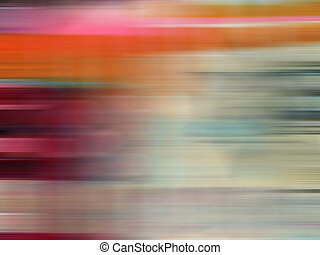 Abstract colorful image conveying movement.