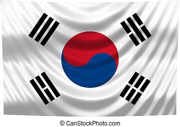 National Flag South Korea