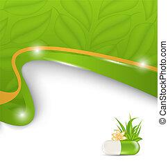 Natural alternative medication, medical background