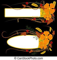 Natural Floral Banner