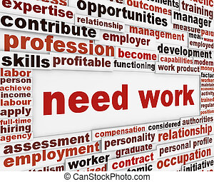 Need work poster design