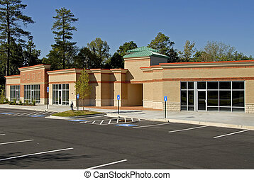 Newly constructed commercial building available for lease