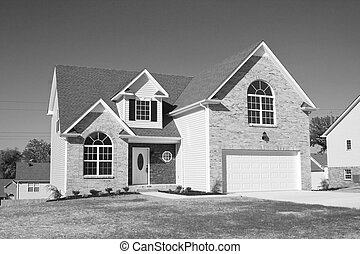 New homes for sale B&W