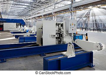 new technological equipment for modern plant