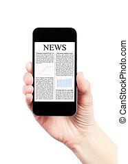 News On Mobile Smartphone