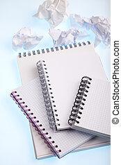 Notebook, Alphabet