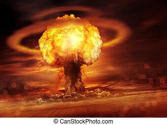 Nuclear Bomb Detonation