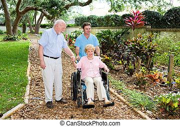 Nursing Home Gardens