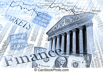 NYSE stock index and exchange rate table