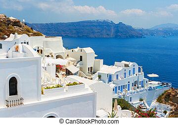 Oia. Santorini island. Greece