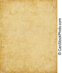 Old card stock paper with subtle stains and cracks.
