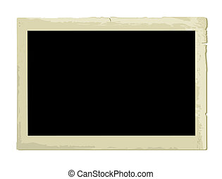 Old Photo Frame (XXL jpeg made from vector)