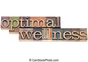optimal wellness in wood type
