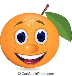 orange cartoon