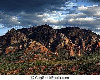 photo sandstone red scenic nature landscape, usa