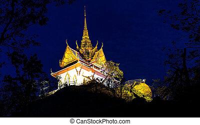 Phrabuddhachay Temple Saraburi, Thailand.