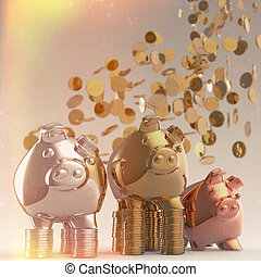 piggy bank as concept