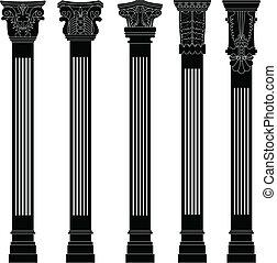 Pillar column antique ancient old