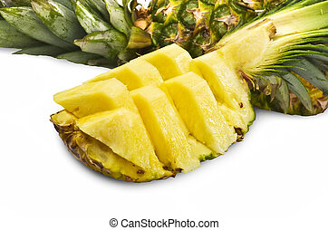 Pineapple sliced